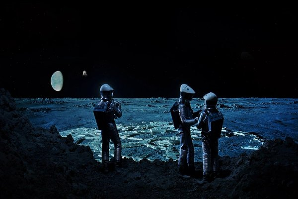 Astronauts in 2001: A Space Odyssey