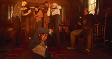 Burning Room Still from Escape Room Movie
