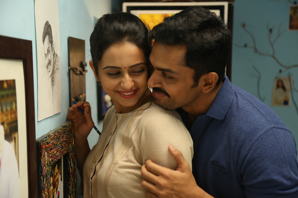 Rakul Preet Singh and Karthi in Theeran