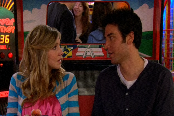 Stella Zinman and Ted Mosby