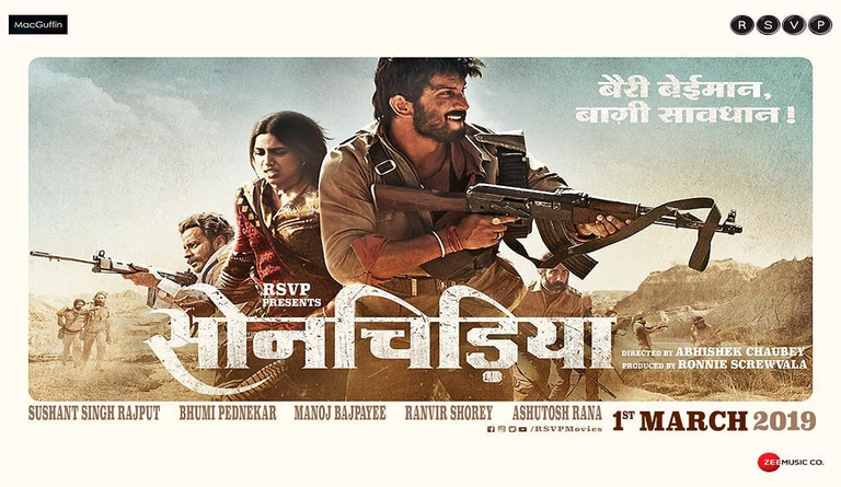 Sonchiriya HD Wallpaper