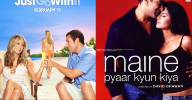 Just Go with It Maine Pyaar Kyun Kiya movie